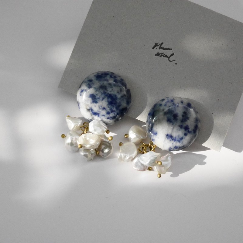 Earrings ピアス / イヤリング | The texture of the sea