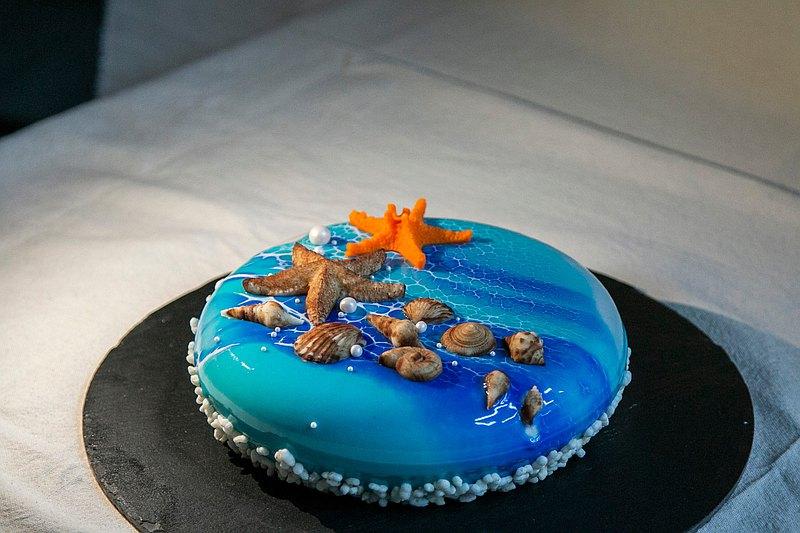 【母親節蛋糕】是海是安慰