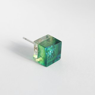 Resin Earrings / 455 / all i understand is that i don't understand - Single Stud