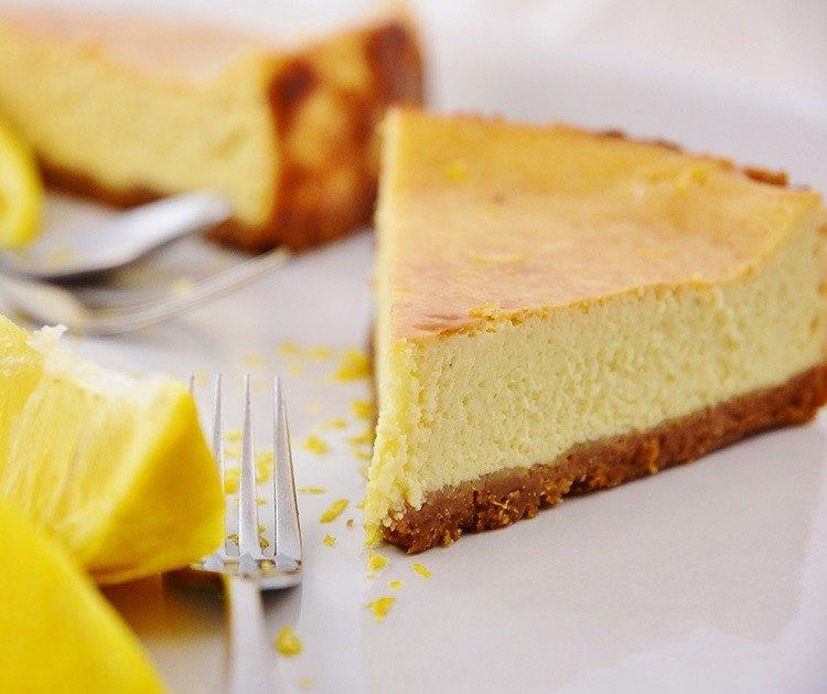 慶祝Celebrate -5吋歐式烙烤乳酪蛋糕~烙烤香氣-烙燒手法新鮮檸檬