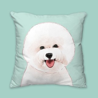[I will love you forever] Classic Bichon Pillow Dog Animal Pillow/Pillow/Cushion