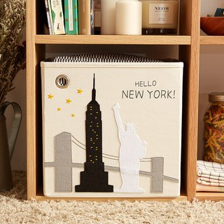 USA kaikai & ash Toy Storage Box - HELLO ! New York New York
