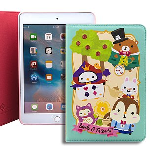 iPad mini 4 Book Cover embroidery holster SigemaXSquly & Friends wonderland BRIPAM4-BC / CL-02