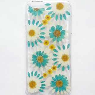 Handmade phone case, Pressed flowers phone case, Turkish style