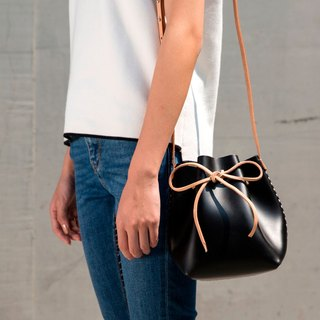JulyChagall Day Dream Summer New Vegetable tanned cowhide Sprouts Super small mini bucket bag