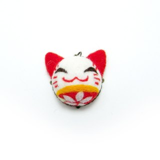 <Wool felt> Japanese style Cat(M Size) - by WhizzzPace