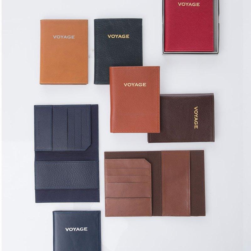 Anthon護照 - 封面護照藍色護照封面,由真皮製成