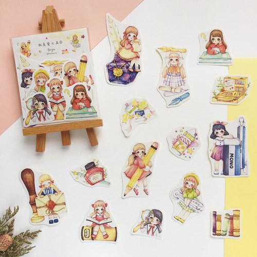 [Is love stationery 2] 14 into the sticker group