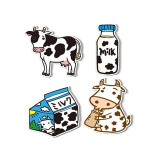 1212 play design fun funny stickers everywhere - prolific dairy cow Miss