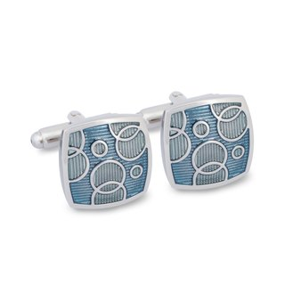 Teal Bubble Dream Cufflinks