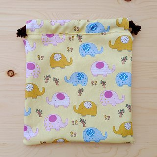 Cute little elephant bundle pocket (large)