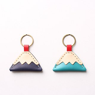Fuji Mountain Key Ring Fuji Fuji Mountain White Head Old