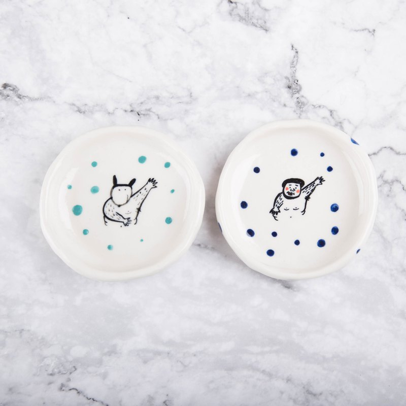 Porcelain Small Plate | Everyday Small Porcelain