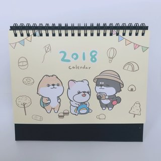 [2018 new desk calendar] firewood Chaiqiang round trip to !!