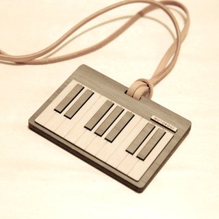 Wooden Document Clip - Horizontal - Piano Key Ticket Card Holder Card Identification Card Yuyou Card MUTOKOGI