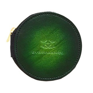 Akromo Green Circle Coin Case