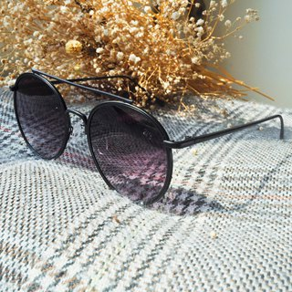 Sunglasses│Vintage Round Black Frame│UV400 Protection│2is StasD