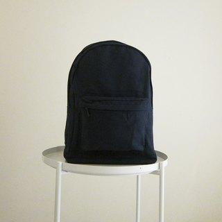 Goody bag canvas back pack - large (dark blue/dark blue) free shipping