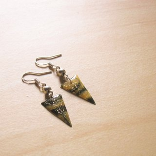 Oasis // 2nd use Accessories / Accessories Cloth / fabric earrings