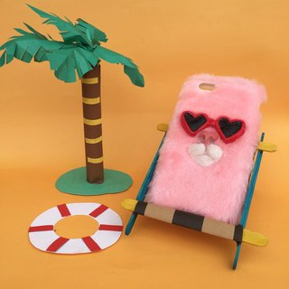SUMMER CAT PHONE CASE