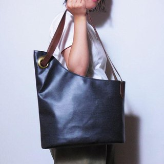 alter asymmetry tote denim / アシメトート  デニム