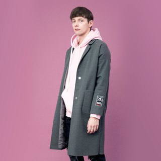 Water Repellent Twill Textured Coat