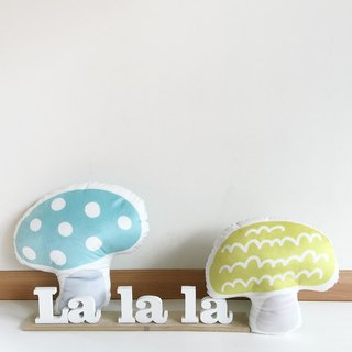 La la la [] does not mushroom pillow single / limited hand / pillow / nap pillow