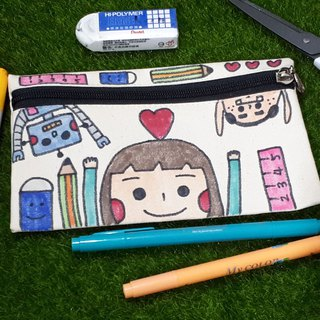 [Picture on the picture] pencil case