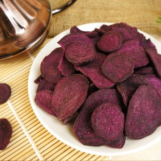 [Afternoon snacks light] beef flavor purple sweet potato chips (120g / bag)