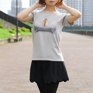 Mousou Drop T-shirt/ GRAY