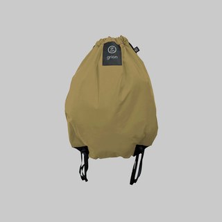 grion waterproof bag - back section (L) Beige