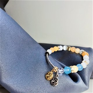 Lucky bag lemon pie Hailanbao ore bracelet