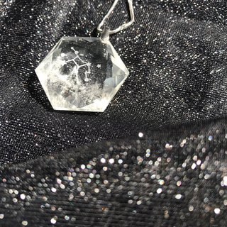 【Lost And Find】Natural clear Quartz Virgo necklace