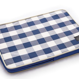 Lifeapp Sleeping Pad Replacement Cloth --- S_W65xD45xH5cm (Blue and White) does not contain sleeping mats