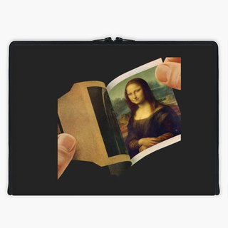 Axis - Custom 3-Sided Zipper Laptop Sleeve - Polaroid
