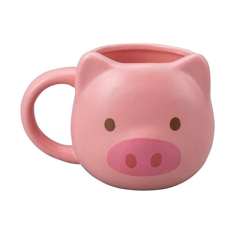日本 sunart 馬克杯 - 粉紅豬