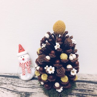 Little Dot Pine Fruit Mini Christmas Tree #PinkoiXmas #第二圣诞