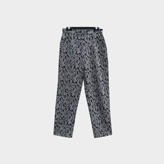 Dislocated ancient / Amoeba wool trousers no.B40 vintage