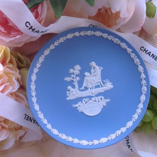 ♥ ~ Annie crazy artifacts ~ ♥ British bone china Wedgwood jasper blue jasper relief 1977 annual disk Mother's Day series of products ~ Gifts collection