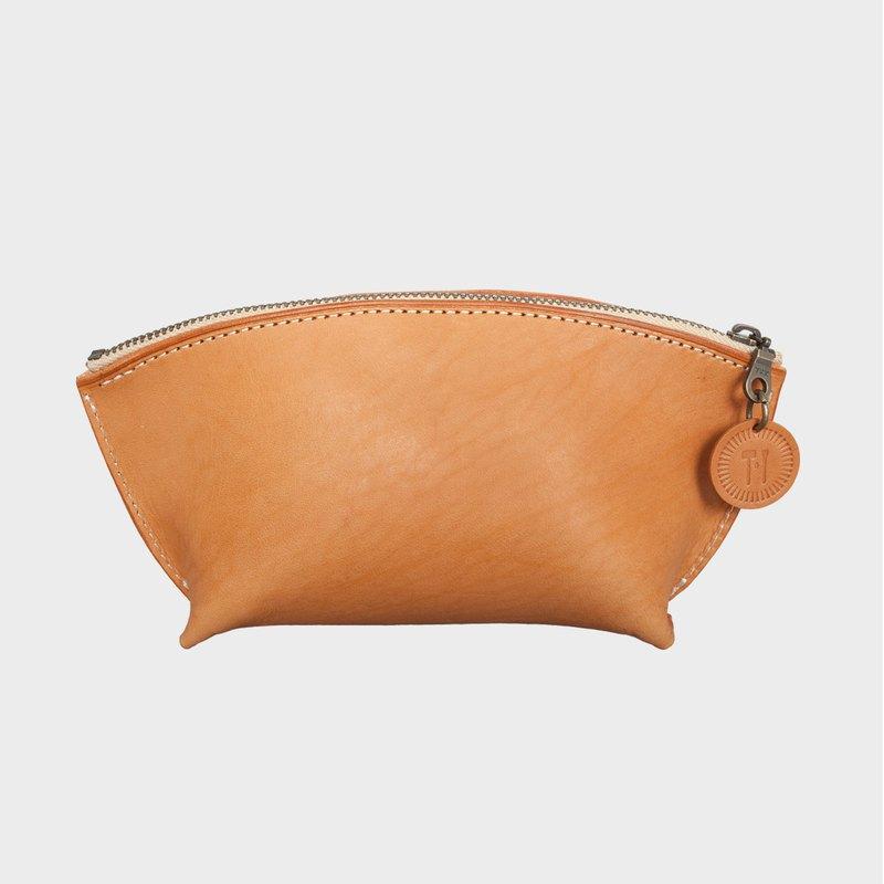 【手作課程 - 船型化妝包】 手工皮件 隨身收納 | 禮物 | 禮盒