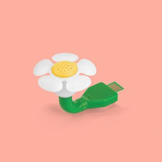 British Mustard USB Mini Fragrance Machine - Small White Flower