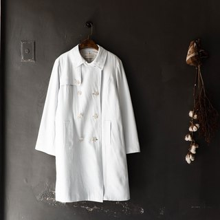 Gunma shallow sea sky blue light love day hand antiques thin material windbreaker jacket trench_coat dustcoat