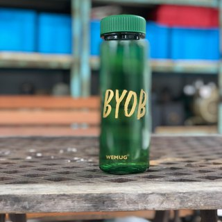 Eco Friendly, Saftey Material. BPA Free Lifestyle Water Bottle #BYOB