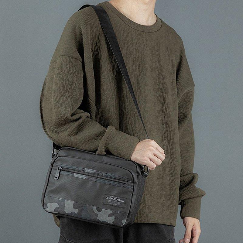 日常休閒側背包 | 簡約設計 | 型男之選