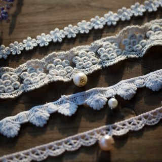 Redemption - Simple Handmade Series x Japanese Lace Necklace