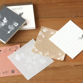 Japan [LABCLIP] Marche series note paper