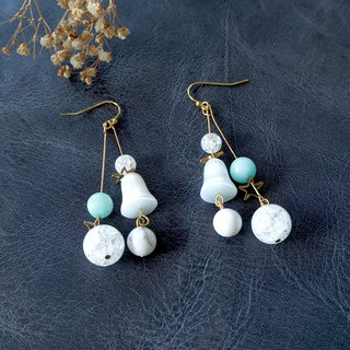 Milkey way (combination bead) earrings