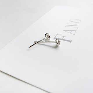 【Closely linked】 sterling silver earrings