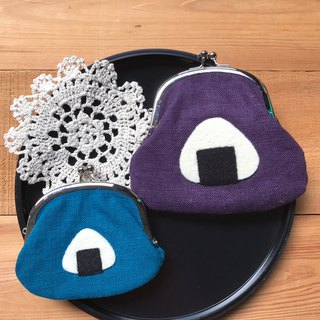 Life / wool felt cloth mouth gold package - rice balls this month discount (blue)