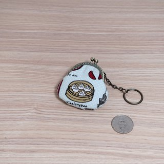 Favorite Xiaolongbao Mini Gold Bag*Coin Purse*がま口*Key Ring